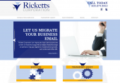 Ricketts Corporation Website